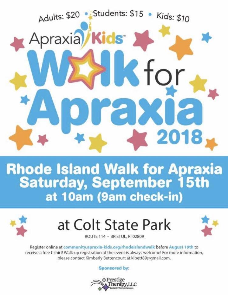 Walk for Apraxia