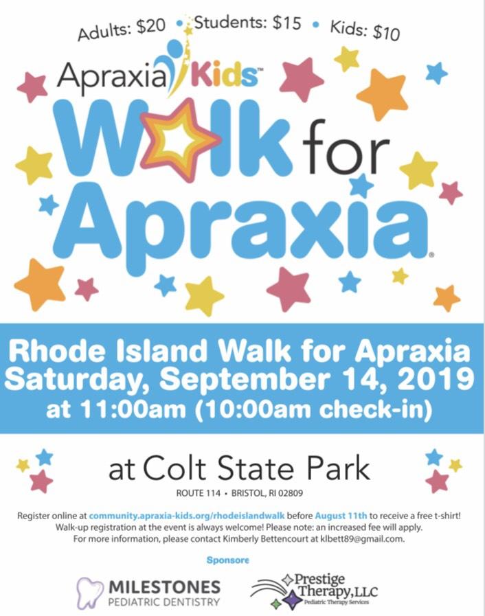 Walk for Apraxia 09.14.2019