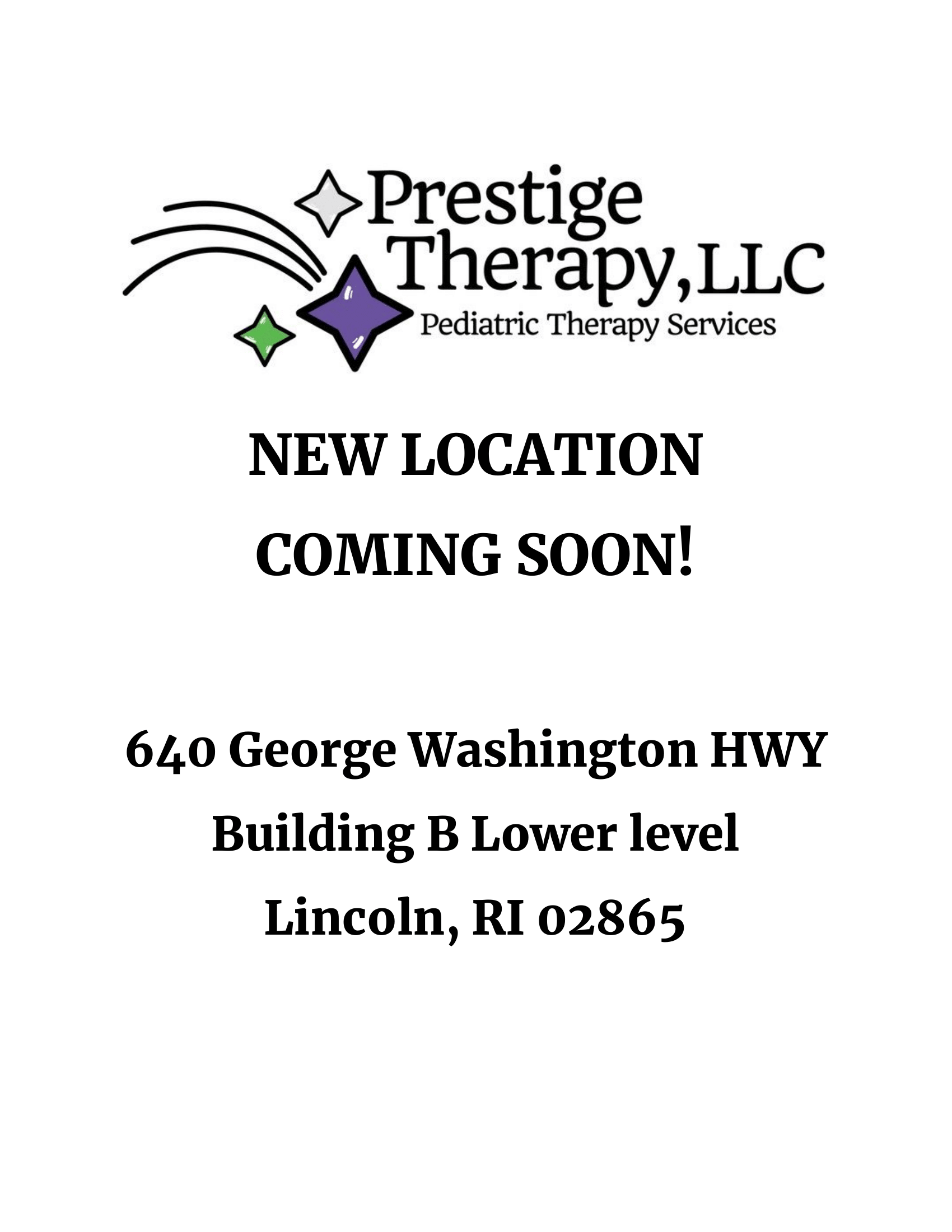 640 George Washington Highway Building B Lower level Lincoln, RI 02865
