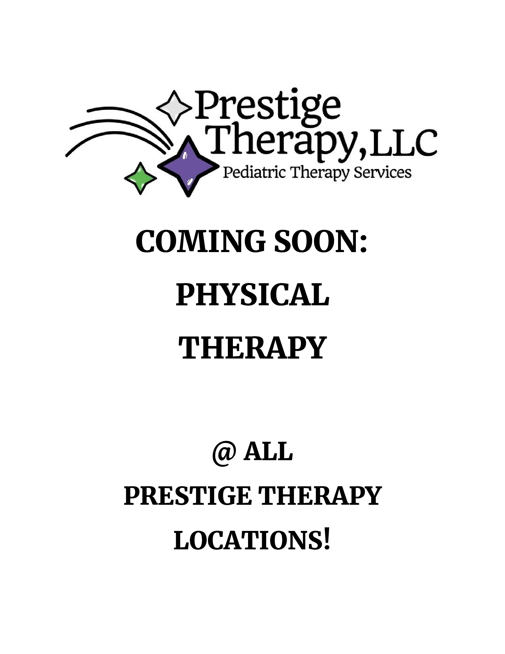 Physical Therapy at Prestige Therapy